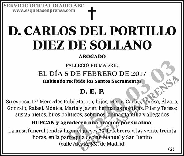 Carlos del Portillo Diez de Solano